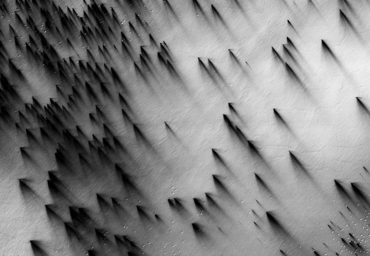 A US Satellite Took These Beautiful Black-and-White ...