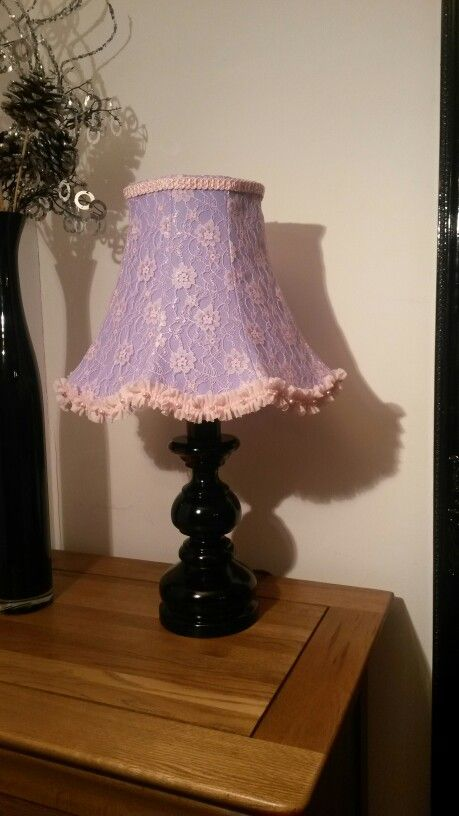 Pretty lilac and pink handmade lampshade really girly my pretty lilac and pink handmade lampshade really girly audiocablefo