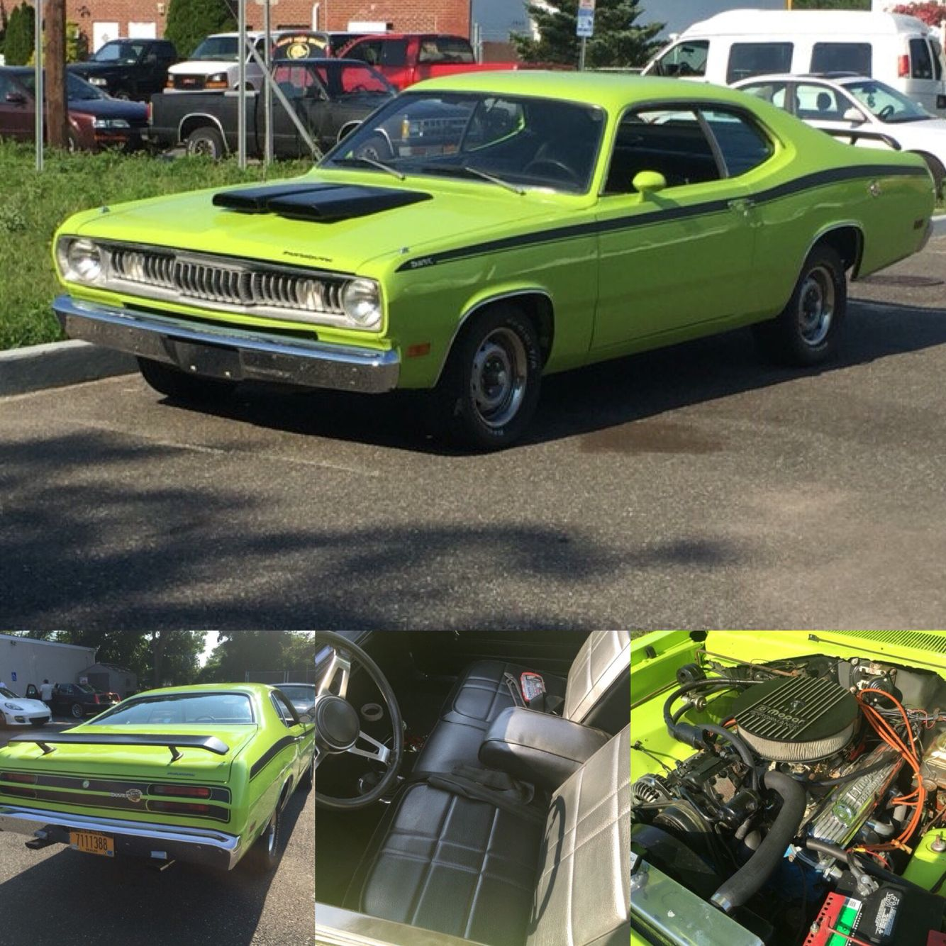 1971 plymouth duster 360 clone this is a very cool car in and out rh pinterest com 1975 plymouth duster transmission plymouth duster transmission