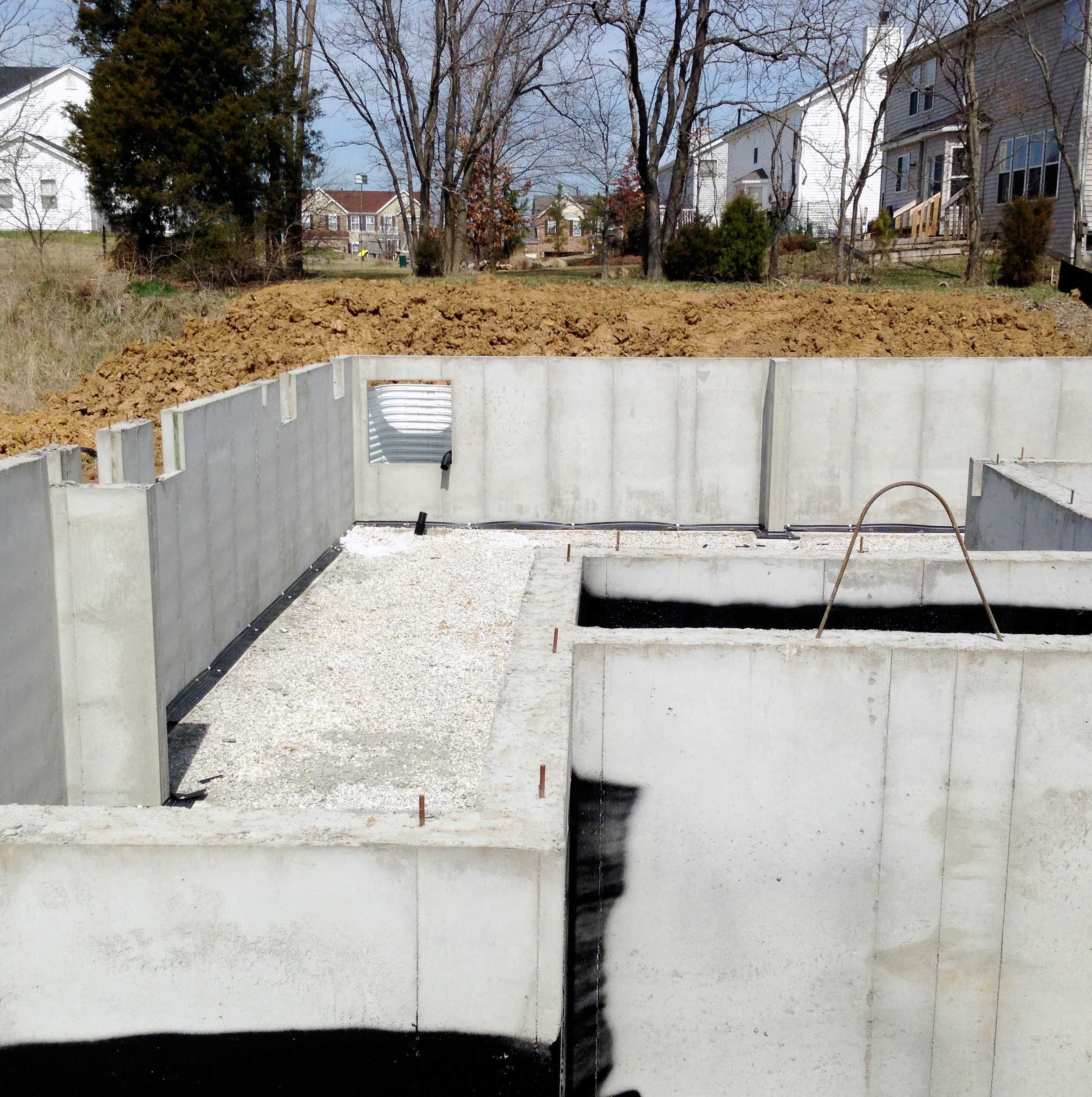 basement foundation design. Learn About Pouring Basement Foundation Walls In New Home Designs. What To Expect With Types And How Much Time They Take Design T