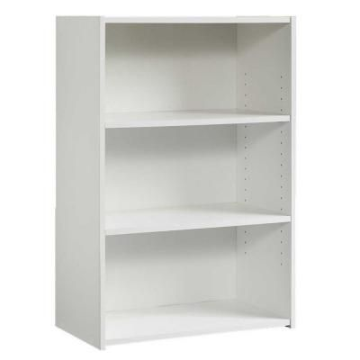 shelf bookcases chrischarles me ameriwood white re bookcase bookshelf checkouts style shop video target