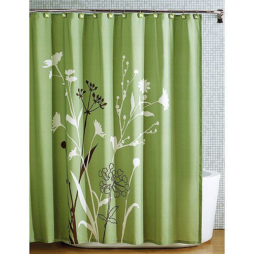 Green Kitchen Curtain Ideas: Amazon.com: Beautiful Green Brown Bird Nature Modern