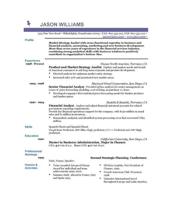 Resume Examples Of Experience Examples Experience Resume