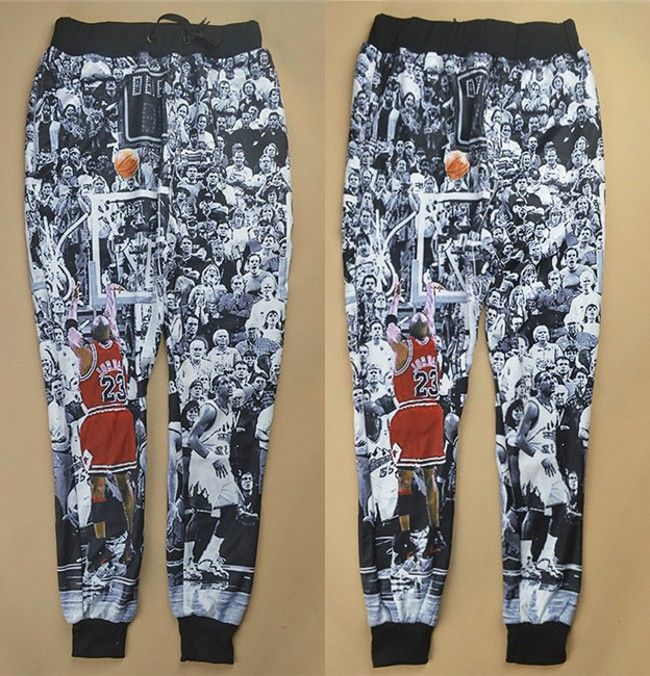 ba6a96ba844 Cheap pants slips, Buy Quality pants hose directly from China pants  modeling Suppliers: New men/women's jodan jogger pants 3D tie dye print  Jordan The Last ...