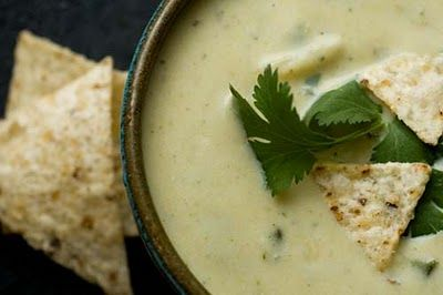 Green chile chowder from Homesick Texan