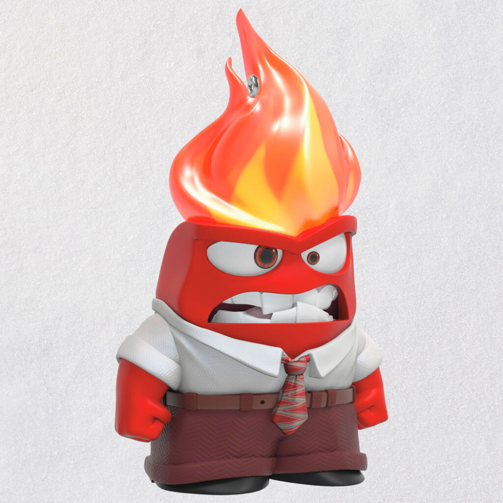 Disney/Pixar Inside Out Anger Ornament With Light in 2020