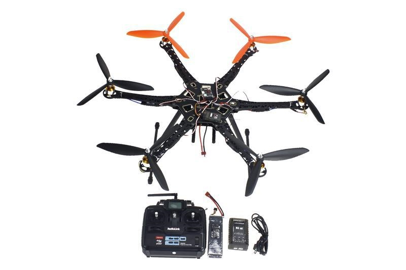 167.89$  Watch here - http://aliqb7.worldwells.pw/go.php?t=32717846923 - F08618-F DIY Drone Quadcopter Upgraded Full Kit HMF S550 9045 3-Propeller 6 axle Multitor Hexacopter RTF/ARF with 6ch TX / RX