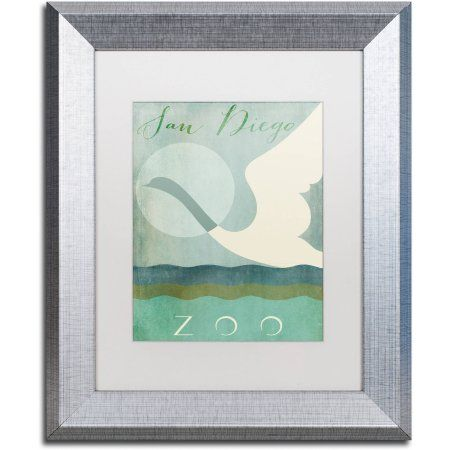 Trademark Fine Art San Diego Zoo Canvas Art by Color Bakery White ...