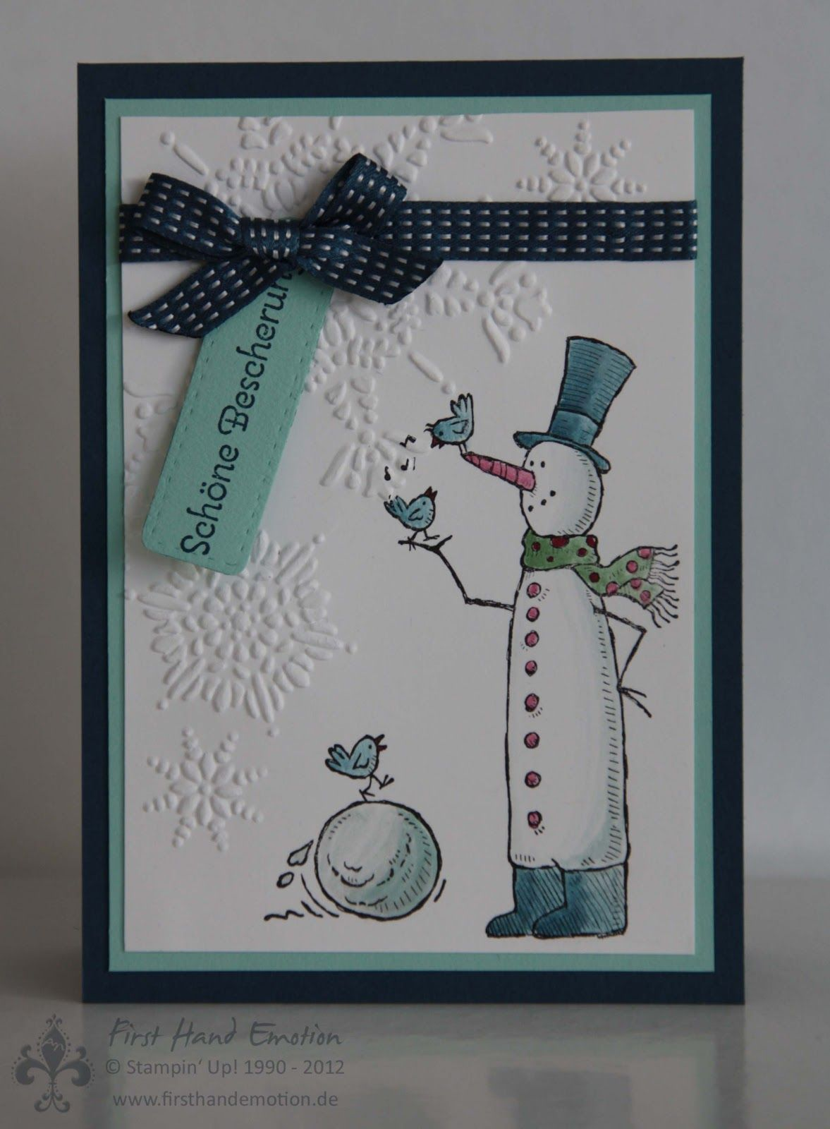 stampin 39 up snow much fun by first hand emotion first. Black Bedroom Furniture Sets. Home Design Ideas