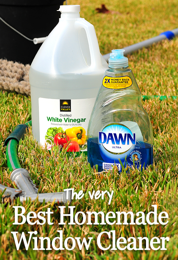 Homemade Window Cleaner This Really Works And Is So Easy To