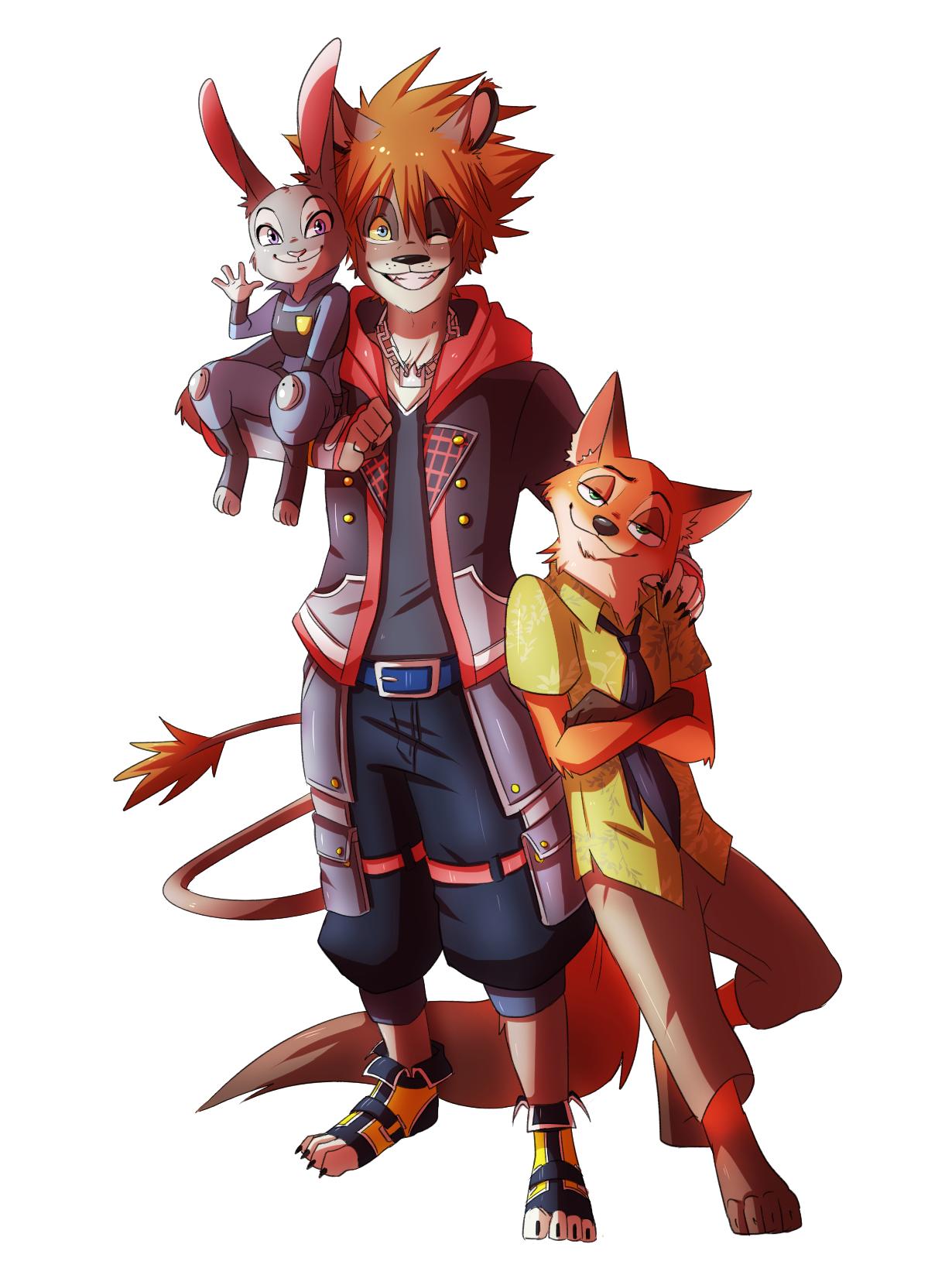 Thomas Sanders - Zootopia Sora 2 | Kingdom Hearts | Pinterest ...
