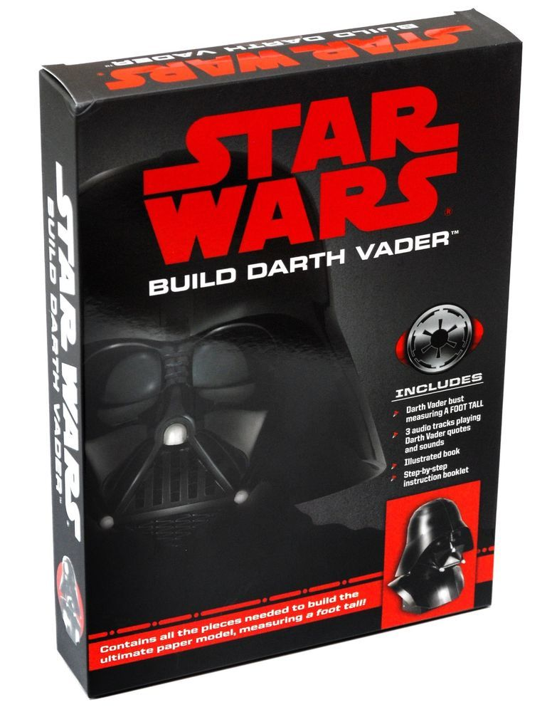 Darth Vader Quotes Interesting Star Wars  Build Darth Vader 1 Fttall Paper Model Kit Audio