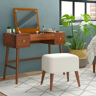 Trent Austin Design Seeley Vanity Set With Mirror Wayfair Vanity Set With Mirror Vanity Set Furniture