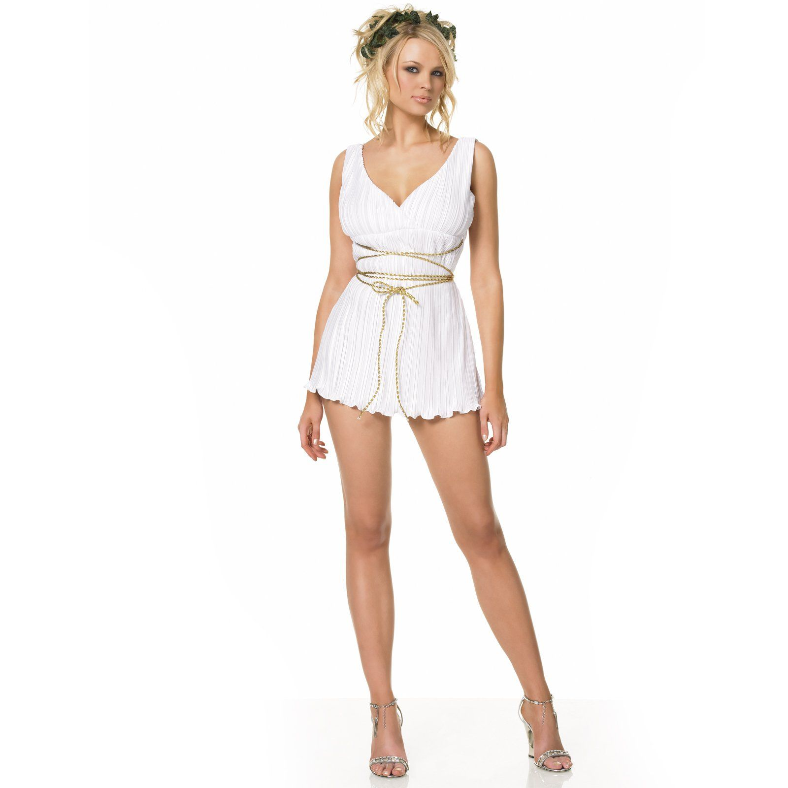 deluxe classic toga female adult costume - Cheap Costume For Halloween