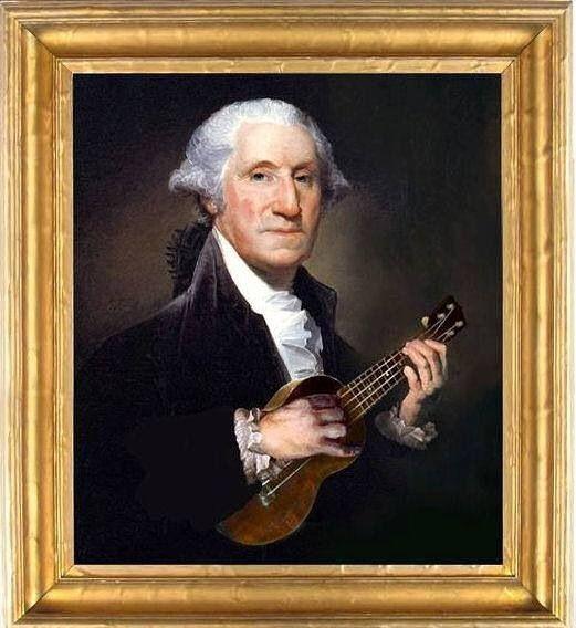 Ukulele George Washington Ukulele Music Ukulele Kids Ukulele