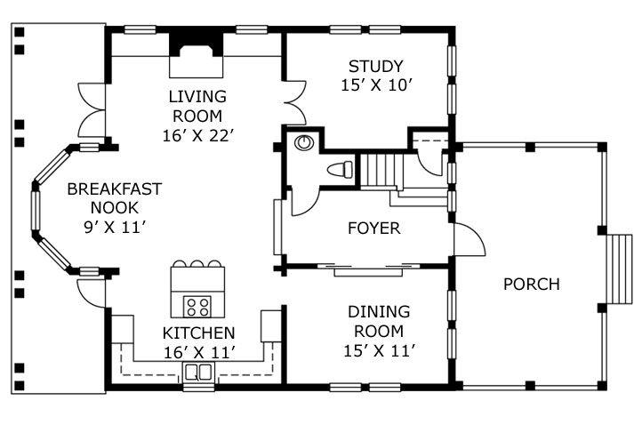 Full House Floor Plans