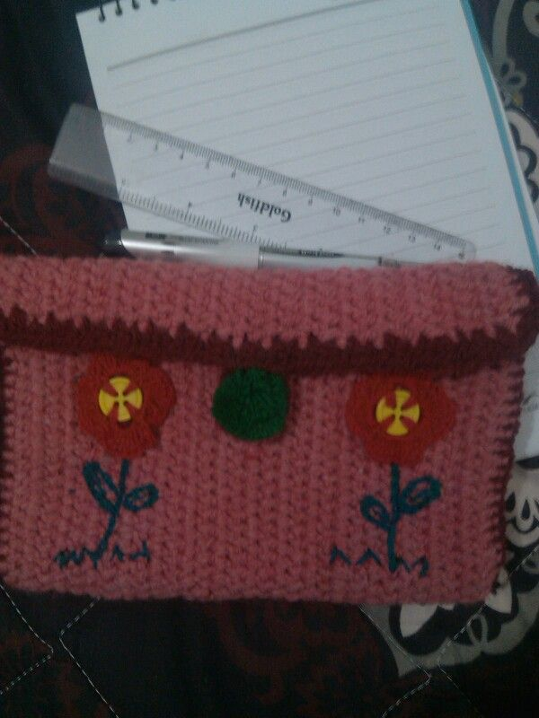 Pencilcase for my little daughter (front)