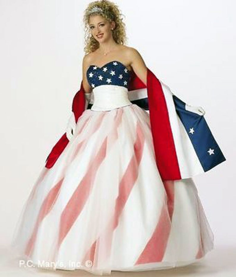 19+ Latest Usa Flag Dresses