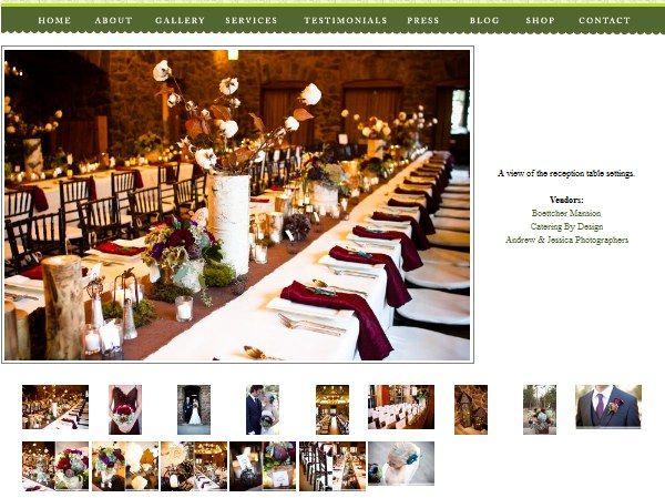Custom website gallery