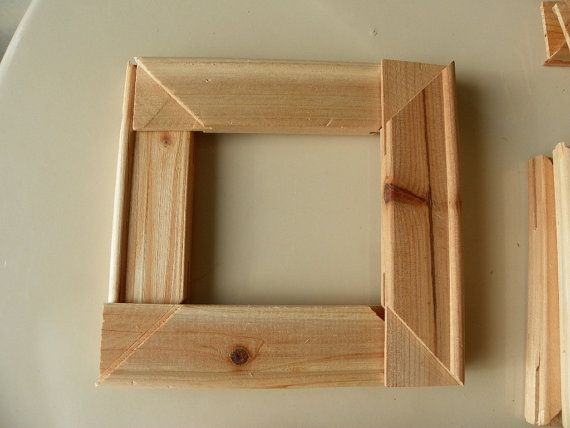 Framing unfinished wood 80 precut lengths by kysew on Etsy
