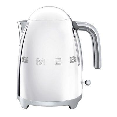SMEG Retro 50s Style 7-Cup Electric Tea Kettle Black