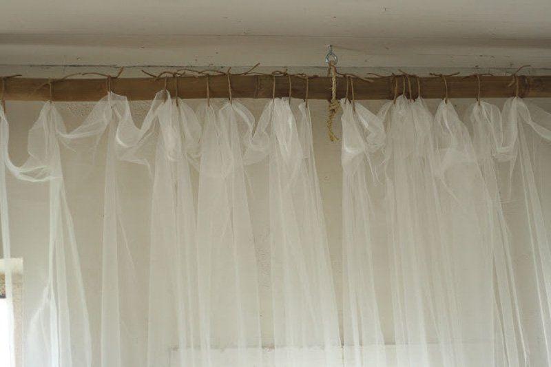 30 Fantastic Affordable Diy Curtain Rod Ideas Diy Curtain