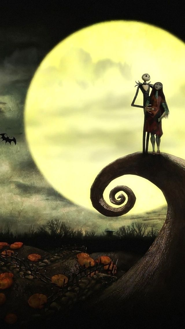 Nightmare Before Christmas iPhone Wallpaper - WallpaperSafari