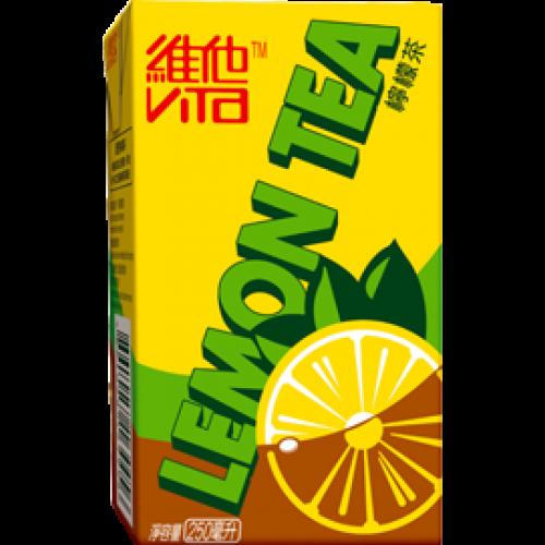 Vita Lemon Tea Lemon Tea Drinking Tea Lemon