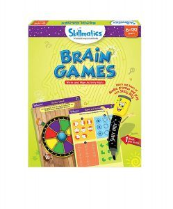 Educational Game: Brain Games, 6-99 Years by Skillmatics ...
