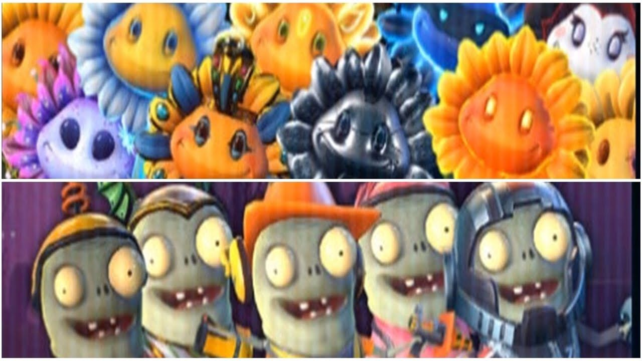 Plants Vs Zombies Garden Warfare 2 All Sunflower To Fight All Lmp Pvzgw2 Gameplay 2016 Part 54 Plants Vs Zombies Zombie Warfare