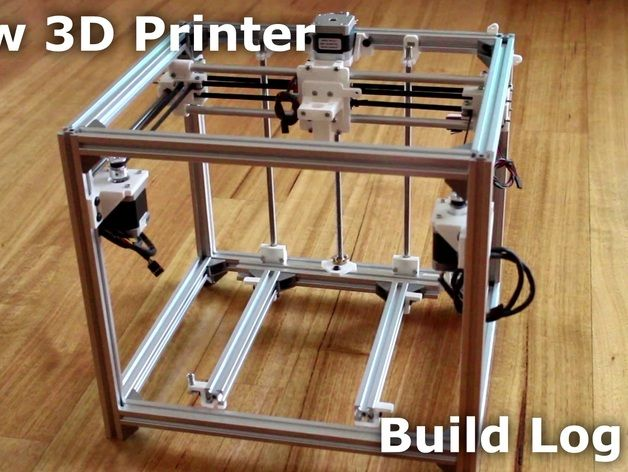 Upgrade your 3D Printer to this frame! Reuse your motors