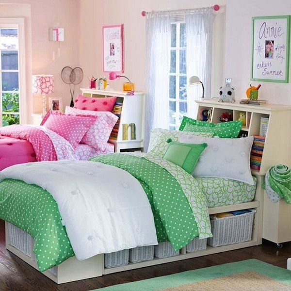 Bedroom Design With Twin Beds Stylish Double Bed For