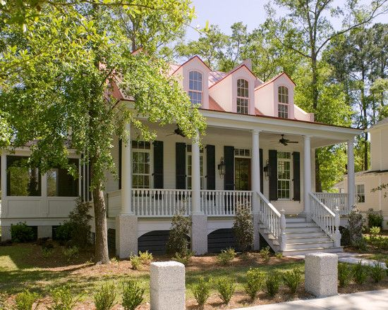 Spaces Acadian House Facade Doors With Shutters Design, Pictures, Remodel, Decor and Ideas - page 35