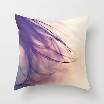 just a wisp Throw Pillow