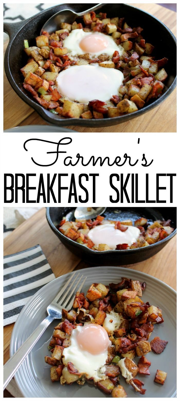 Photo of Make this farmer's breakfast skillet recipe for any meal of …
