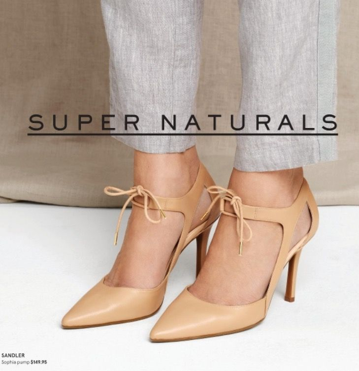 Nude laced heels