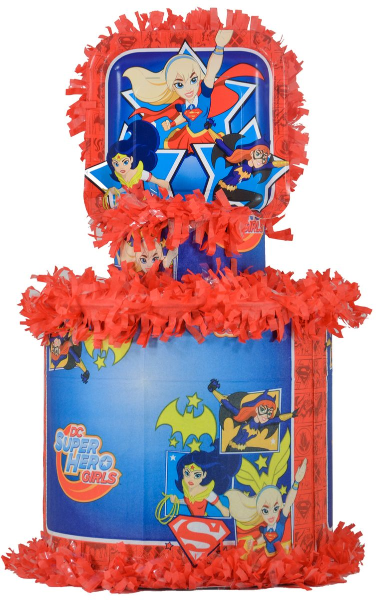 Dc Super Hero Girls Pinata Worldofpinatas Com Dc Super