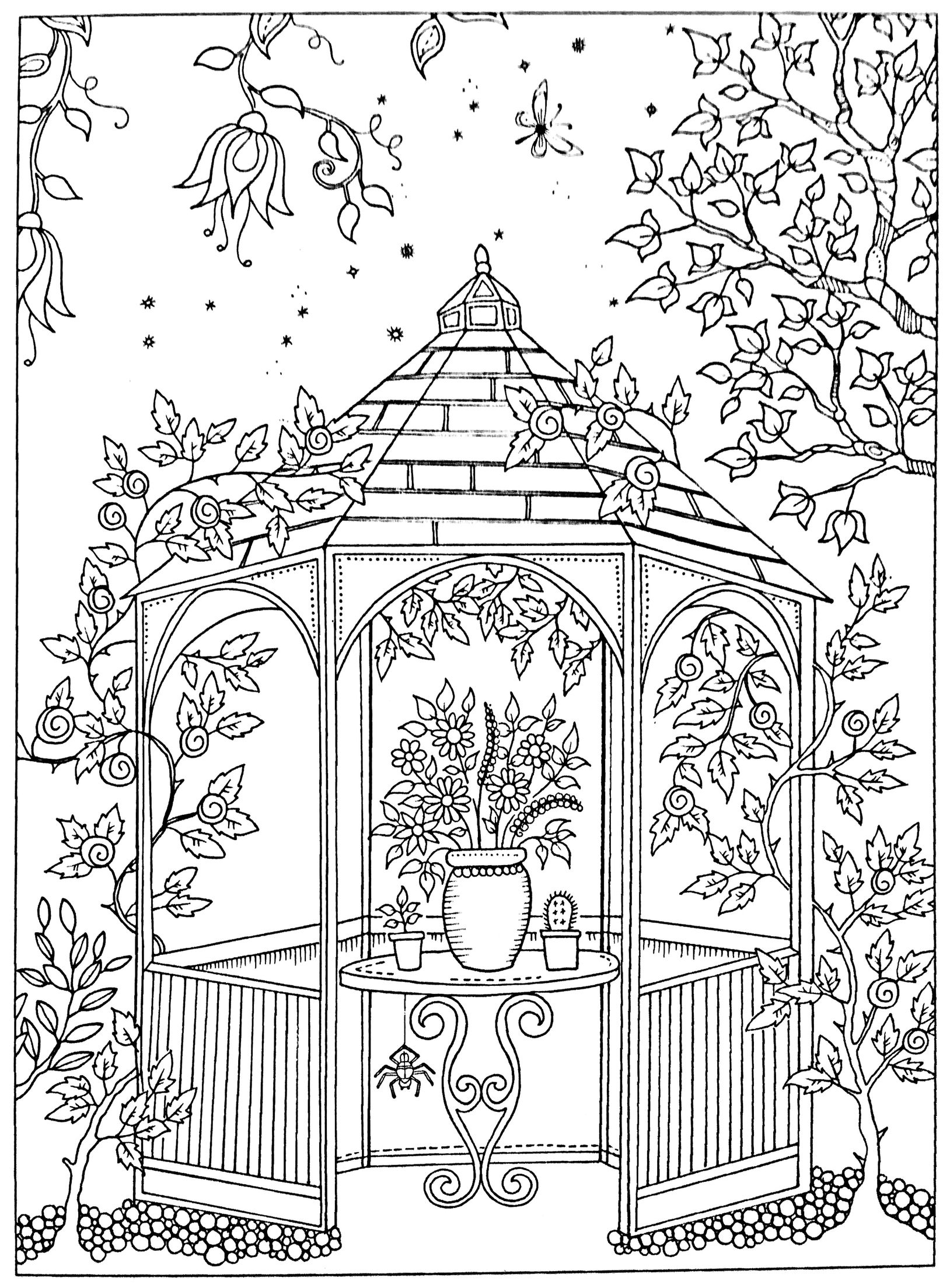 - Free Adult Coloring Page Secret Garden Garden Coloring Pages