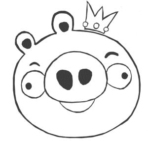 Angry Birds Coloring Pages For Your Small Kids Bird Coloring Pages Angry Birds Pigs Angry Birds Party