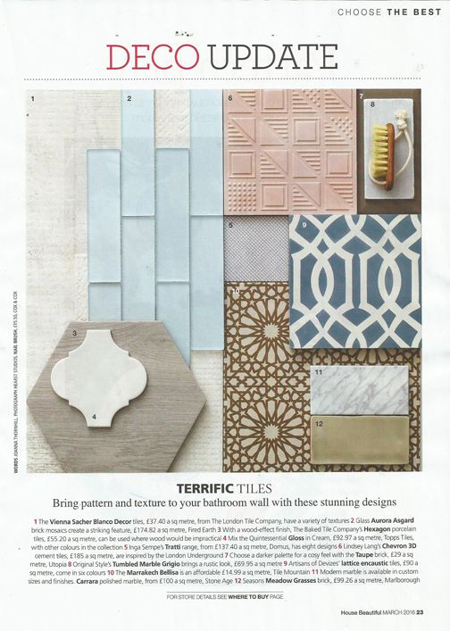 Decor Tiles Watford Stunning Did You Spot Our Vienna Sacher Decor Tiles In The March Edition Of 2018