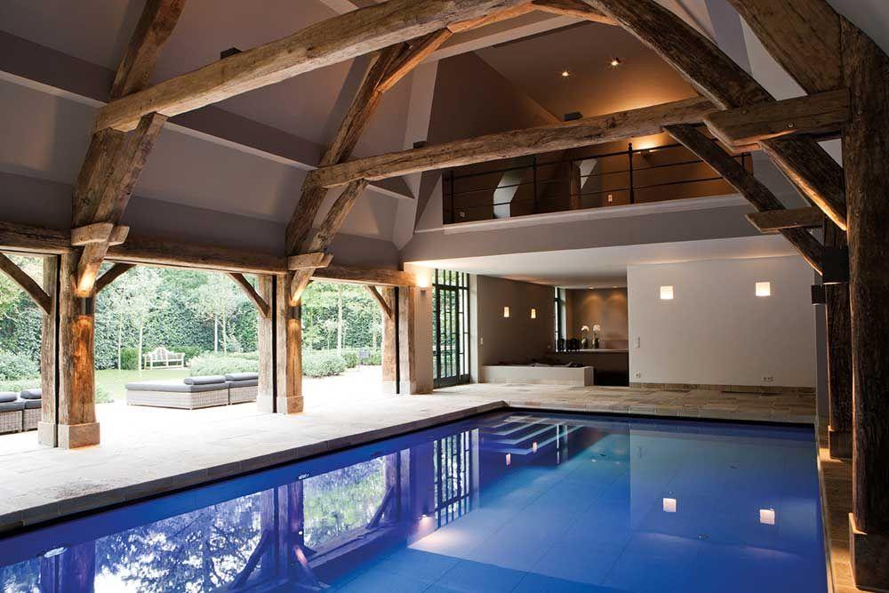 Villa Binnenzwembad Swimming Pool In 2019 Zwembaden