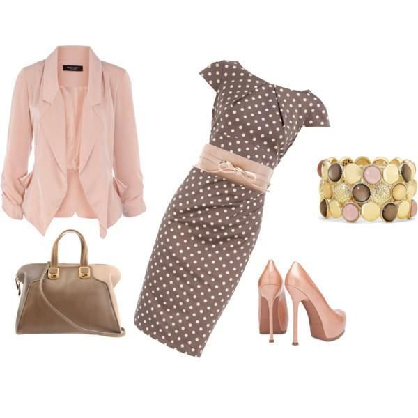 Spring Polyvore Outfits In Baby Pink Pretty Designs Fashion My Style Style