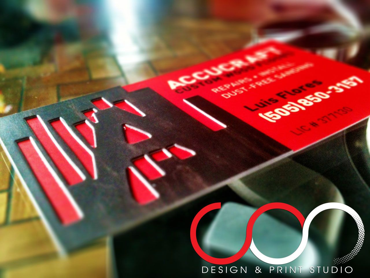 Custom Designed Printed Specialty Business Cards by www.sosprints ...