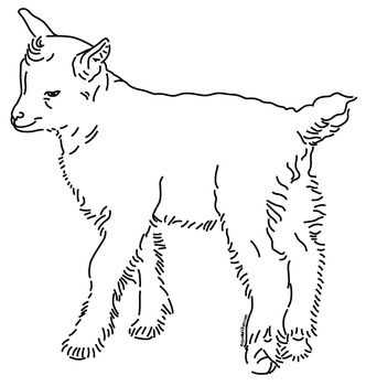 Cordial Clips offers a royalty-free line drawing of a Baby