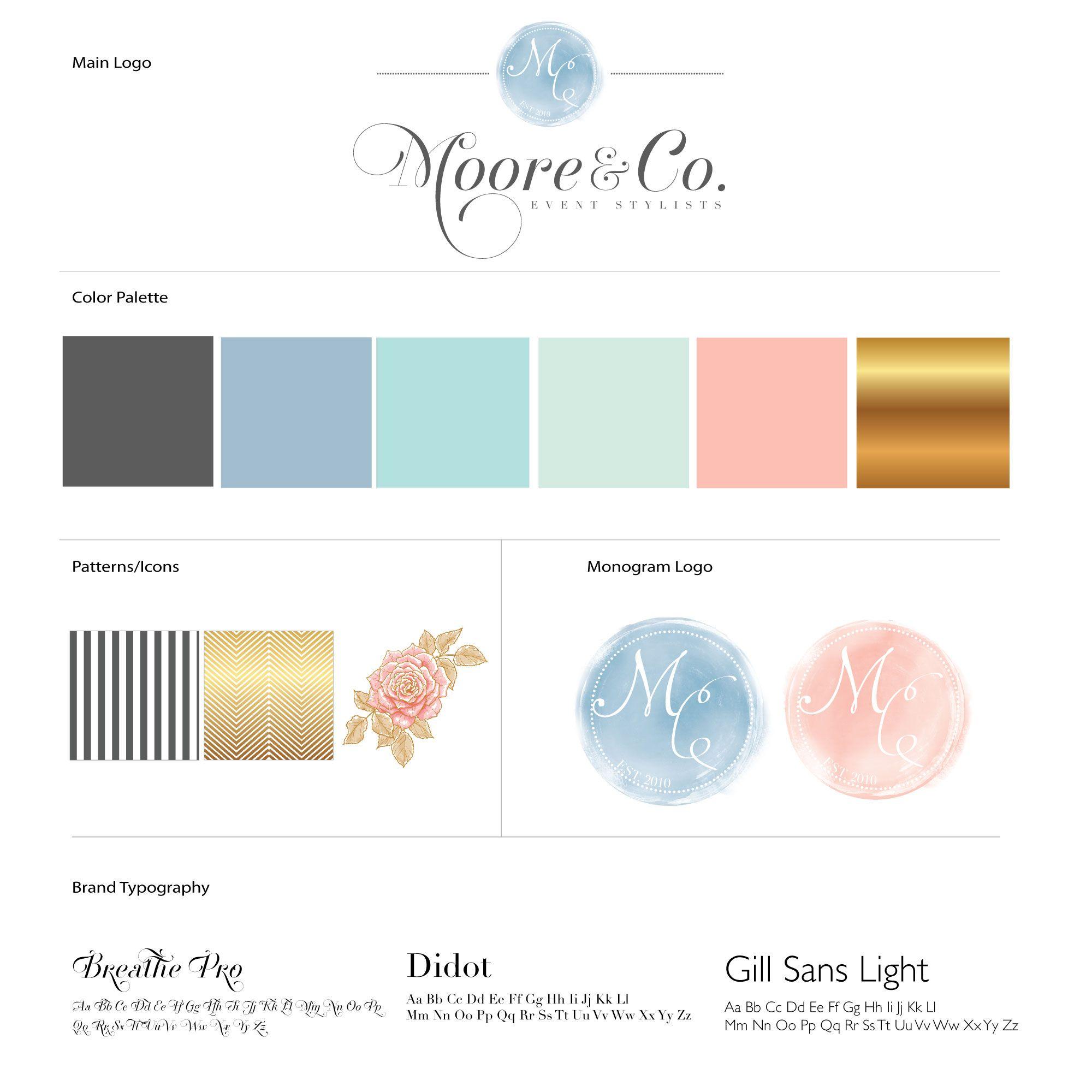 Wedding Branding Ideas: Moore Co. Events Www.mooreandcoevents.com, Wedding Planner