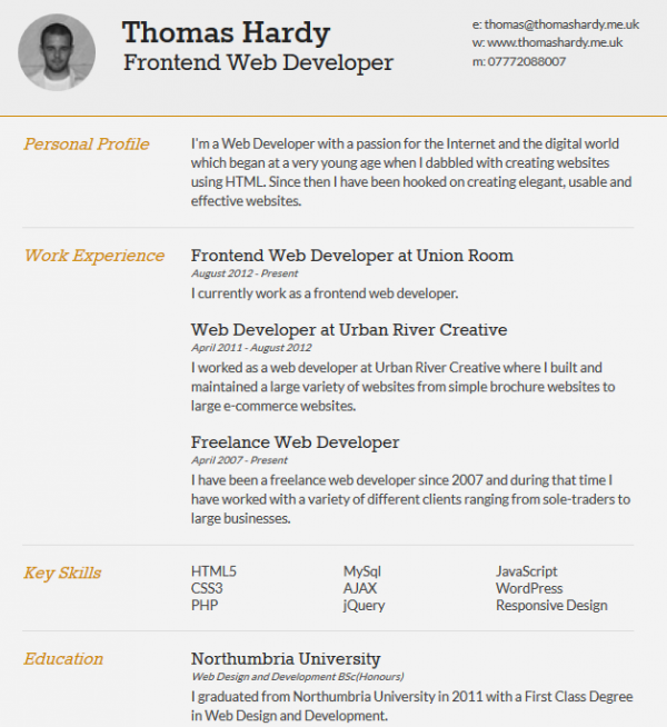 Usable Resume Templates Resume Template  Candy  Pinterest  Cv Template Template And .
