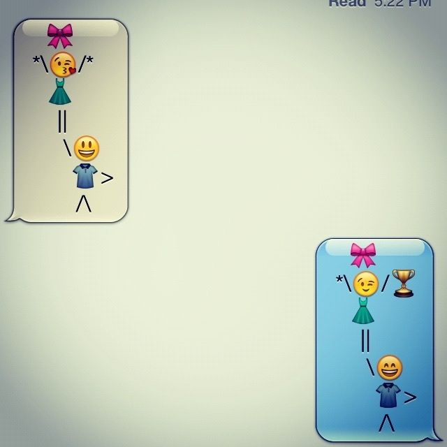 Emoji cheer stunts