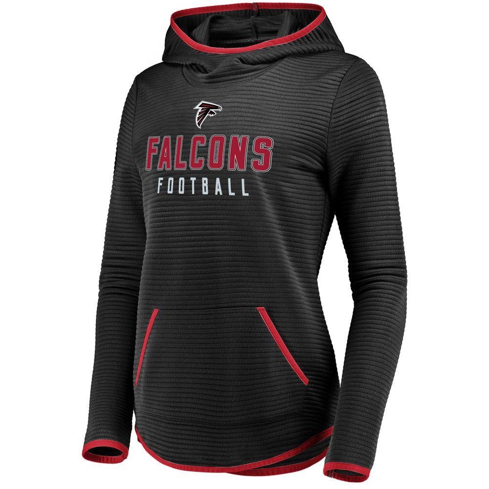 Nfl Atlanta Falcons Women S Linear Hood Black Scuba Neck Hoodie L Women S Size Small Hoodies Chicago Bears Women Nfl