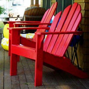 Adirondack Chair selber bauen: Bebilderte Bauanleitung für einen ...
