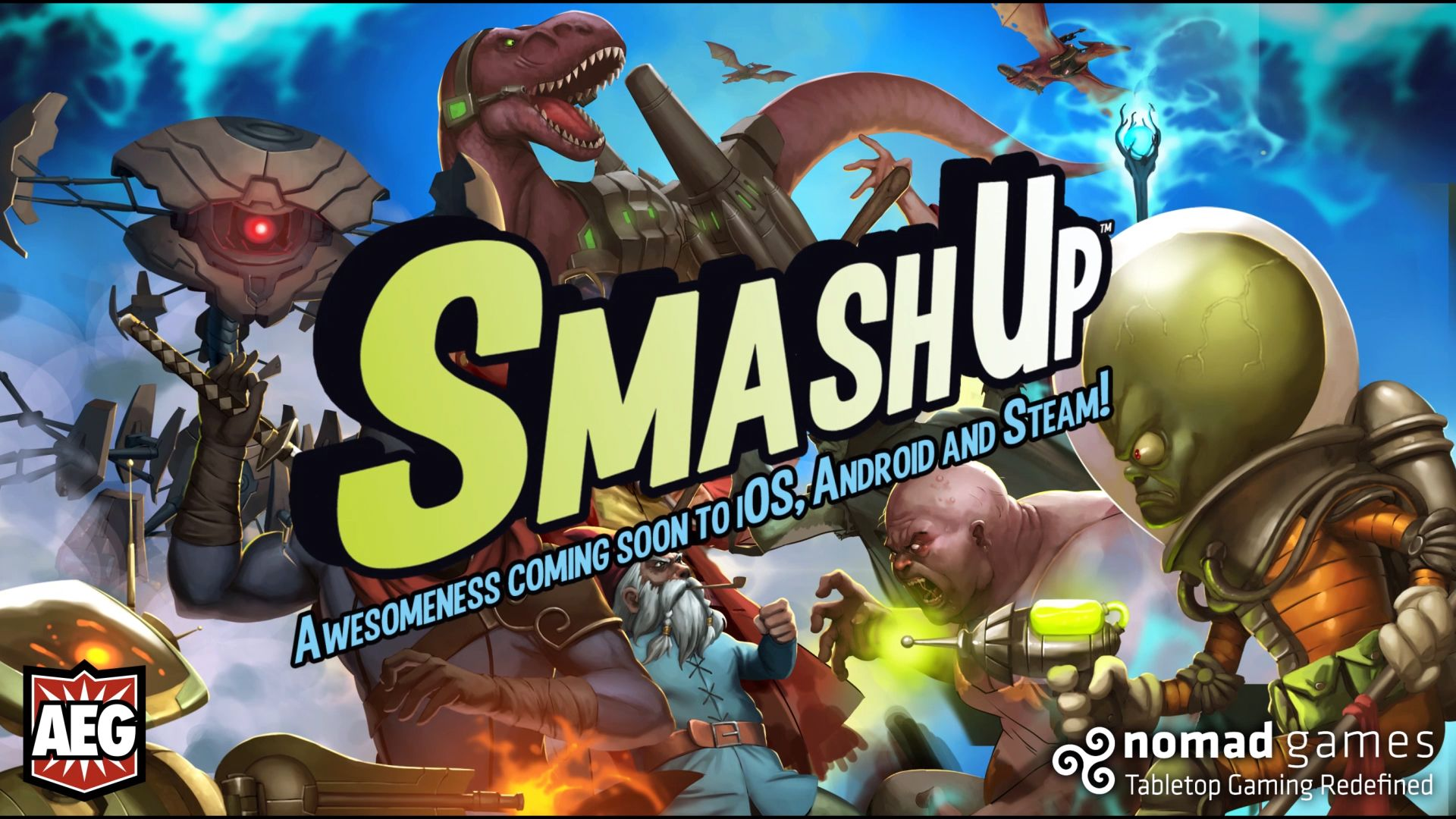 Smash Up! to go digital later in 2016 KeenGamer Board